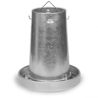 Galvanised Poultry feeder 10KG