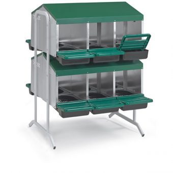 12 Compartments Rollaway Nestbox