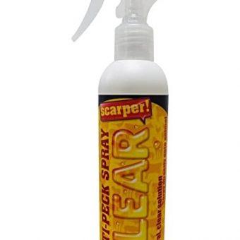 Scarper Anti Peck Spray Clear. 250ml