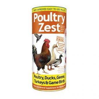 Poultry Zest Pellets